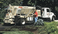Finn Model BB1208 bark blower