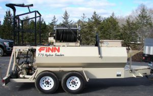 Finn T75 hydroseeder