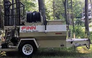 Finn T60T hydroseeder