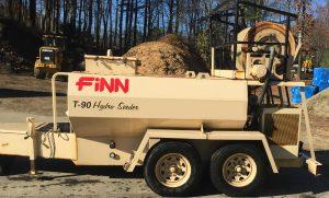 Finn T90 hydroseeder