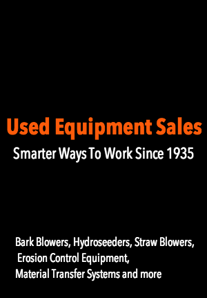 used / pre-owned erosion control equipment