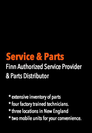 Finn authorized Service Provider and Parts Distributor