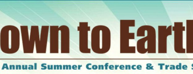 Down To Earth! 2015 Summer Conference & Tradeshow