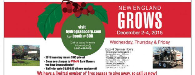 New England Grows, Dec. 2-4, 2015