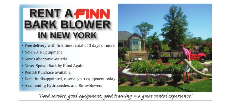 bark blower rental