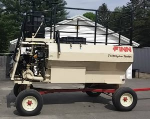 Finn T120 hydroseeder for sale