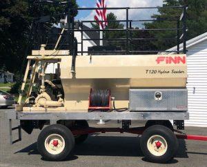 Finn hydroseeder T120S